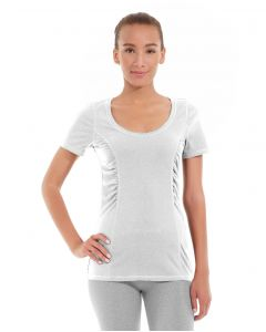 Juliana Short-Sleeve Tee-XS-White